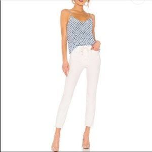 MOTHER Jeans - Mother Superior Lace Up Dazzler Ankle Chew Jeans 2